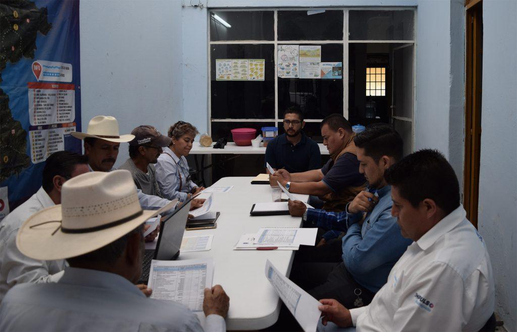 Presentación de resultados en el COTAS de Acámbaro-Cuitzeo