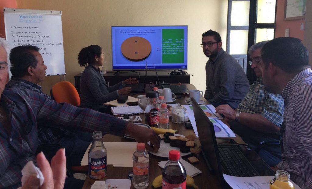 Presentación de resultados en el COTAS de Silao-Romita