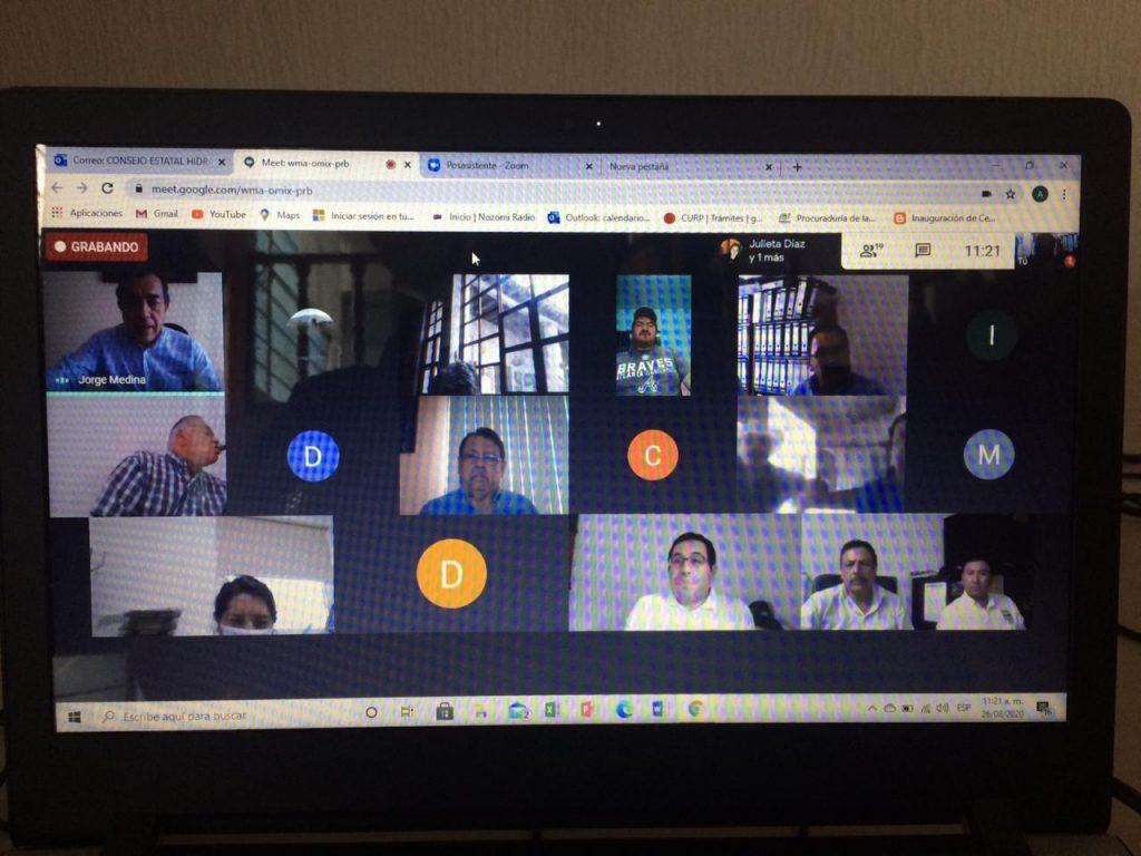 Videoconferencia Consulta Pública número 6 del Consejo de Cuenca Lerma Chapala(CCLCh)